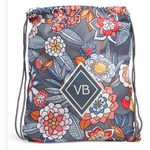 NWT Vera Bradley Tropical Evening Drawstring Bag